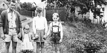 Bernd Hartung als Kind