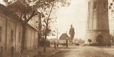 Wasserturm und Günserstraße