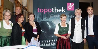 Kaumber: Eröffnung der Topothek in der Mehrzweckhalle