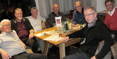 Topothekare treffen sich im Café Seinerzeit