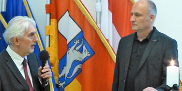 Mag. Thomas Pulle und Alexander Schatek