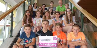 Die Projektgruppe Topothek in Schweiggers
