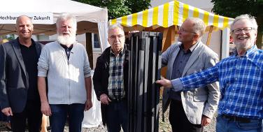 Alexander Schatek (Topothek), Roland Bergmann (Topothek Hochburg-Ach), Ignaz Märzinger (Topothek Kollerschlag), Wolfgang Sauber (Topothek Rohrbach), Anton Brand (Topothek Museumsinitiative Rohrbach)