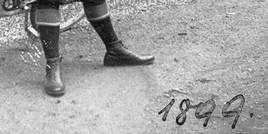 Der Bicyclist aus dem Jahr 1899 war der Dorfschullehrer