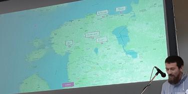 Sven Lepa aus dem Nationalarchiv Estland berichtet über den Einsatz im Norden