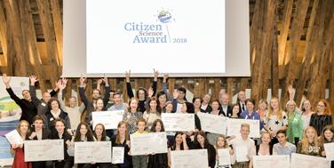 So sehen Sieger aus: Die Teilnehmerinnen und Teilnehmer am CSA 2018 Foto: Martin Hörmandinger