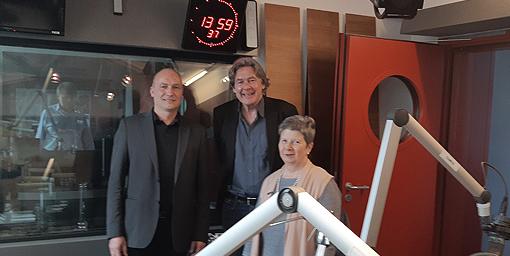 Nach der Sendung: Andreas Obrecht mit Margarete Püler und Alexander Schatek