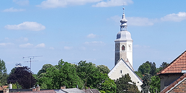 Zistersdorf: Einschulung und Blick in die Gegend