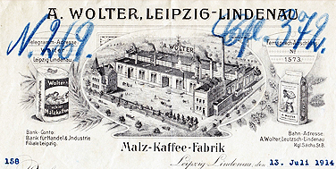 Leipzig, Briefkopf